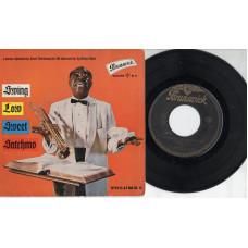 LOUIS ARMSTRONG disco EP 45 giri SWING LOW SWEET SATCHMO VOL. 2