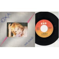 ANNA OXA disco 45 giri NON SCENDO + PRIMO AMORE COME STAI - 1984 - Made in Italy - SANREMO