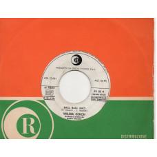 BOBBY SOLO WILMA GOICH disco 45 giri promo Juke Box ZINGARA + BACI BACI BACI - 1969 - Made in Italy - SANREMO