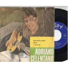 ADRIANO CELENTANO disco 45 giri NON ESISTE L'AMOR + BASTA - Made in Italy