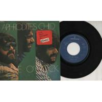Aphrodite's Child  disco 45 giri 1970 It's fice 'o clock