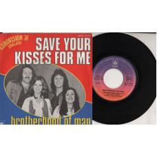 Brotherhood of man  disco 45 giri STAMPA francese 1976 Save your kisses for me Eurovision