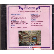 CD OUVERTURES CELEBRI VOL. 4 - Mozart Bizet Beethoven Brahms Tchaikowski