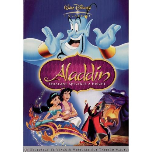 Aladdin dvd cartone animato walt disney prima versione