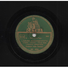 Wilfrid Thomas disco 78 giri  High Noon + Waltzing Matilda