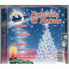 CD FANTASIA DI NATALE - Nat King Cole FRANK SINATRA Michael Bolton ELVIS PRESLEY Ella Fitzgerald ...