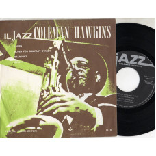 COLEMAN HAWKINS disco EP 45 giri LAURA + BLUES FOR RAMPART STREET + STARDUST + STUFFY - Serie JAZZ