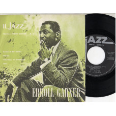 ERROLL GARNER disco EP 45 giri BLUES IN MY HEART + PASTEL + FAREWELLTO RIVERSIDE + TRIO - Serie JAZZ