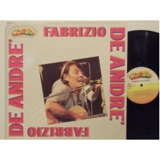 FABRIZIO DE ANDRE disco LP 33 giri SUPER STAR - Stampa Italiana - Armando Curcio Editore