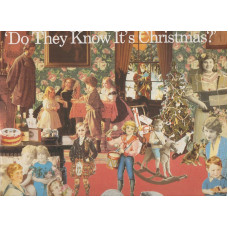 "BAND AID disco MIX 12"" DO THEY KNOW IT'S CHRISTMAS - 1984"