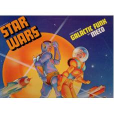 STAR WARS disco LP 33 giri MECO Guerre stellari GALACTIC FUNK - 1977 - Made in USA