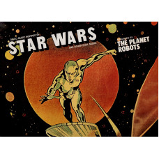 STAR WARS disco LP 33 giri THE PLANET ROBOTS - Guerre stellari - 1977 - Made in USA