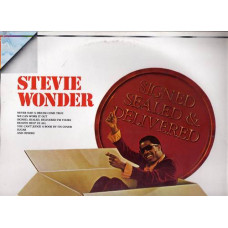 STEVIE WONDER disco LP 33 giri SIGNED SEALED & DELIVERED 1970 Made in Italy SIGILLATO SEALED