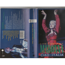 Madonna VHS Ciao Italia Live from Italy