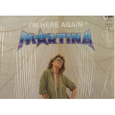 MARTINA disco LP 33 giri I'M HERE AGAIN made in MEXICO 1981 stampa MESSICANA