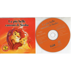 IL RE LEONE THE LION KING Walt Disney CD single PROMO OST IVANA SPAGNA ELTON JOHN cardsleeve LE PIU BELLE CANZONI DI SIMBA