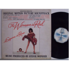 STEVIE WONDER disco LP 33 giri THE WOMAN IN RED - 1984 - La signora in rosso