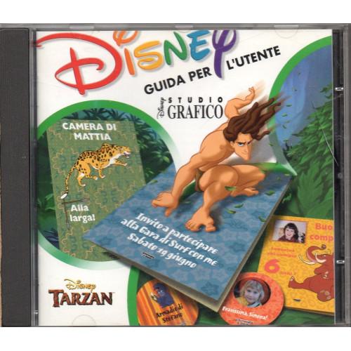 Cd tarzan videogioco ispirato al cartone animato walt disney