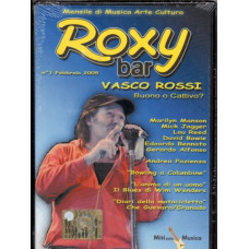 DVD ROXY BAR n. 1 - RED RONNIE Vasco Rossi MICK JAGGER Lou Reed BOWIE Bennato MARILYN MANSON Che Guevara