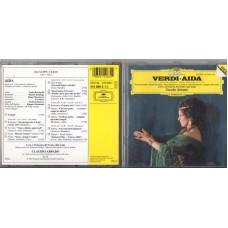GIUSEPPE VERDI CD AIDA - 1992 - Katia Ricciarelli PLACIDO DOMINGO Ruggero Raimondi CLAUDIO ABBADO