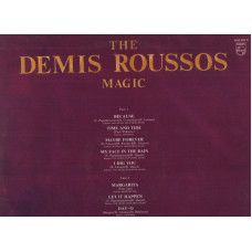 Demis Roussos disco LP 33 giri The Demis Roussos Magic 1977 stampa ITALIANA 1981 made in ITALY