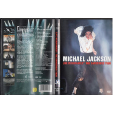 MICHAEL JACKSON DVD LIVE IN BUCHAREST The dangerous tour