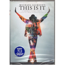 MICHAEL JACKSON DVD THIS IS IT - 2010 - Edizione italiana - SIGILLATO Sealed