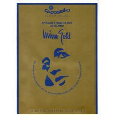 MINA - Cartella stampa promozionale MINA GOLD