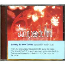 """CD """"SAILING TO THE WORLD"""" - Colonna sonora del videogame PC """"THE SEVENTH SEAL"""" - Musiche di YASUNORI MITSUDA - JAPAN"""